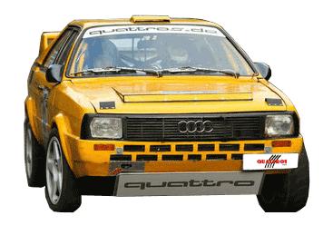 Rally Audi Coupe
