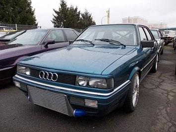 Umbau Audi Blau